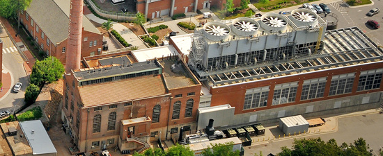 Yarbrough Steam Plant received certification for Leadership in Energy and Environmental Design (LEED) at the silver level.