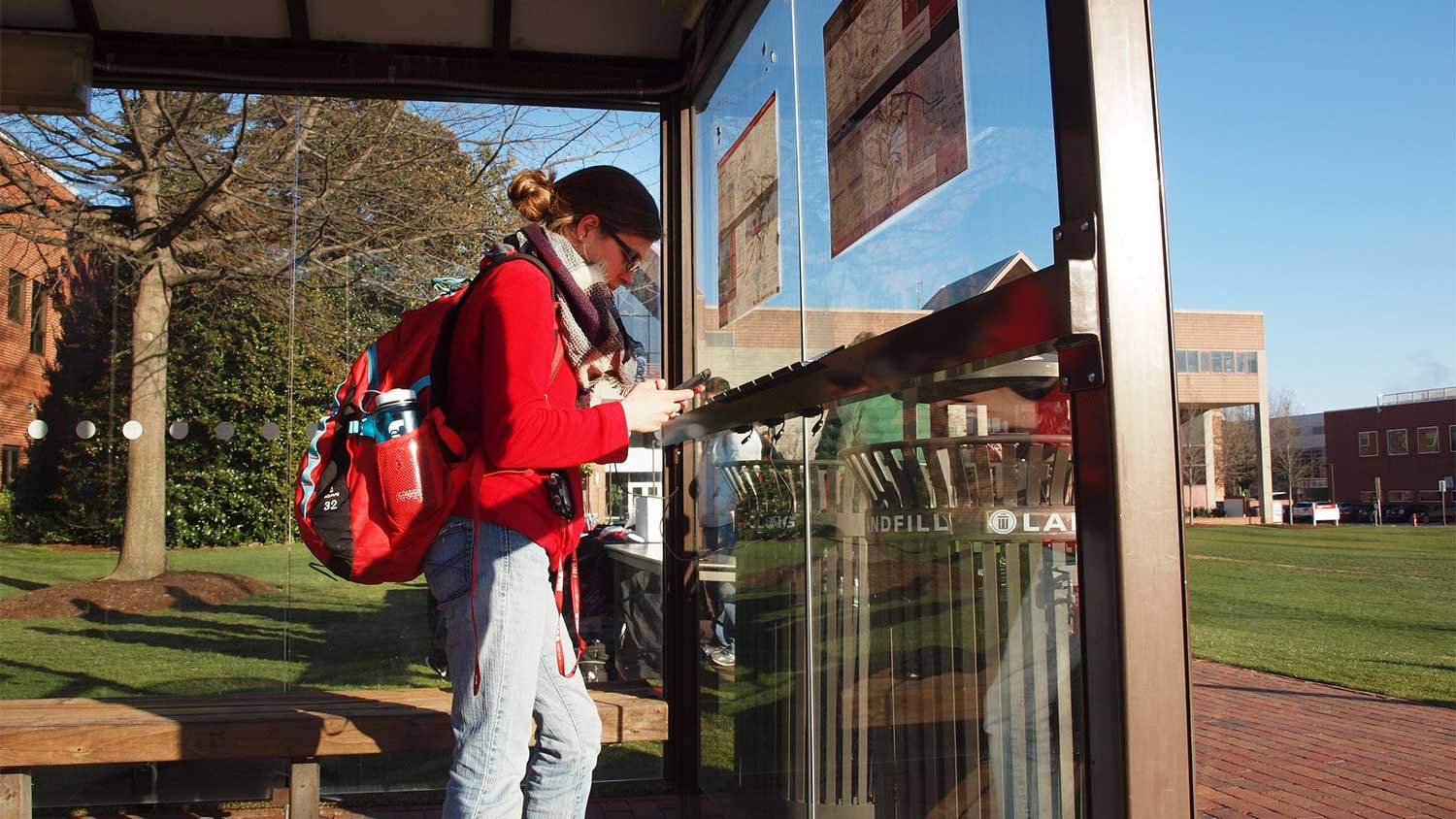 Nc State Adds Solar Charging Station At Bus Stop