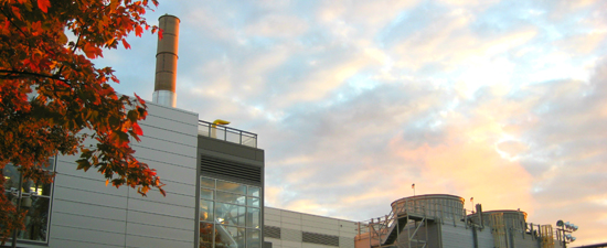 Cogeneration at the Cates Utility Plant improves efficiency and enables NC State to generate some of its own electricity.