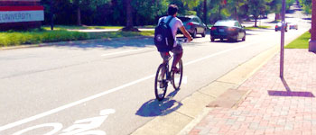 Bike-Lane-Varsity-Dr-Cyclist