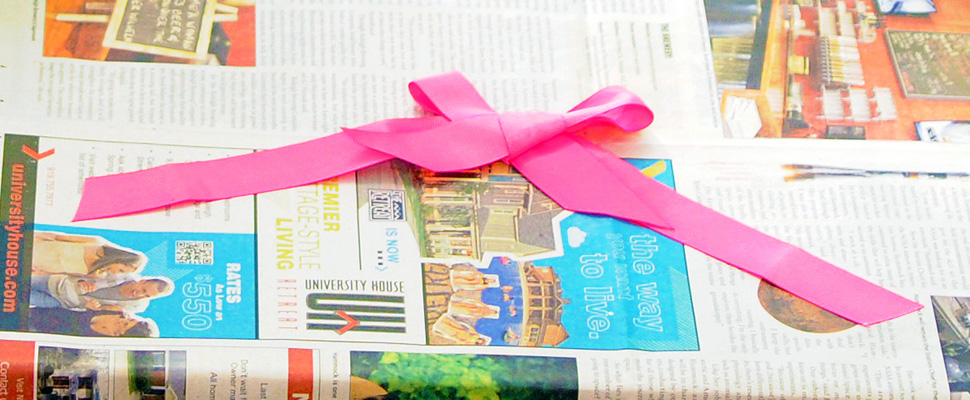 How To Wrap Gifts Without Wasting Paper Money