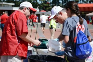 Composting was made available at the 2014 & 2015 Kay Yow Spring Football Games and will now be offered at all home football games during the 2015 season.