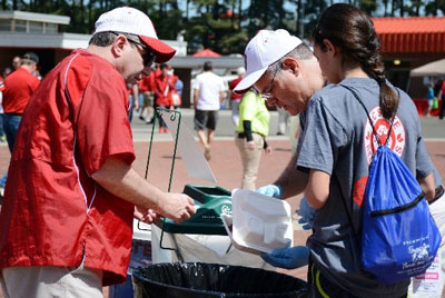 Carter-Finley Stadium Implements Composting