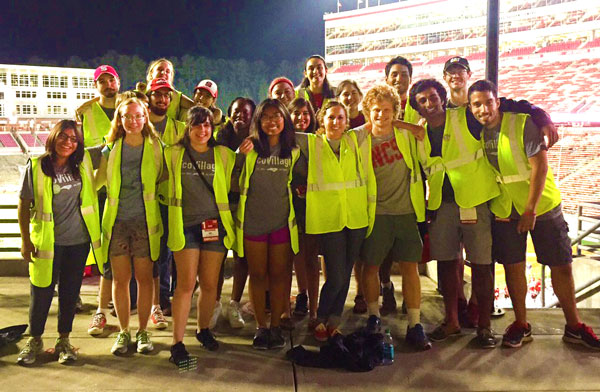 Wolfpack diverts stadium waste through composting, recycling