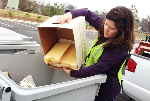NC State To Host Free Shredding, Recycling Drive