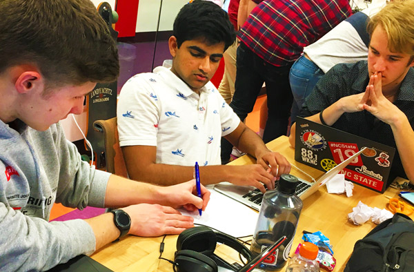 Students design sustainability solutions in Make-A-Thon