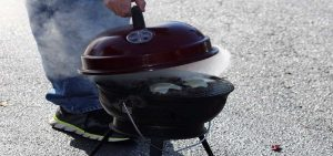 Charcoal grills are associated with higher emissions than gas grills.