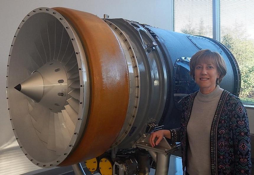 Lisa Jones Teague developing better airplane engines