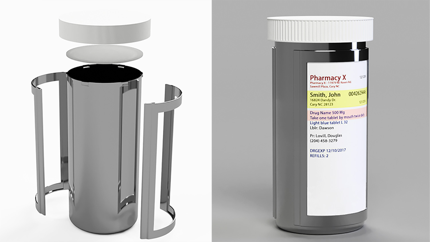 Winning Student Design Reduces Prescription Bottle Waste