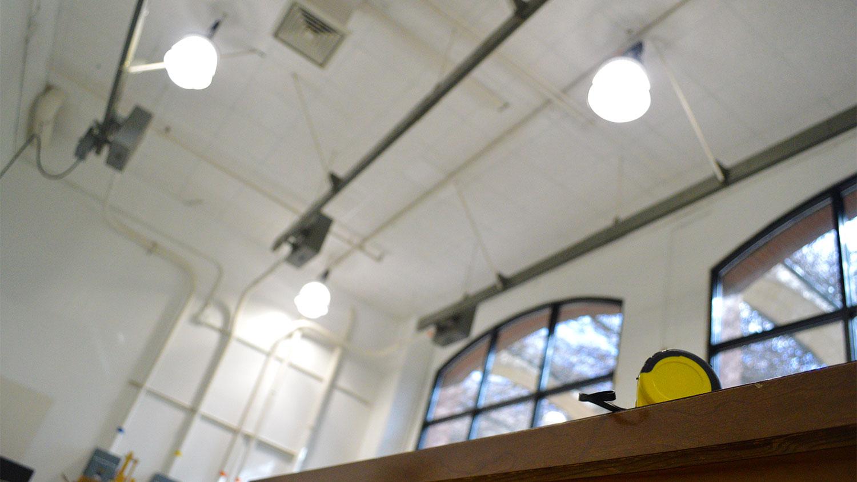 LED Upgrade Saves Energy, Improves Textiles Lab