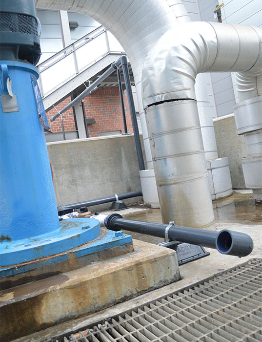 New Reclamation System Saves Water At NC State Energy Facility