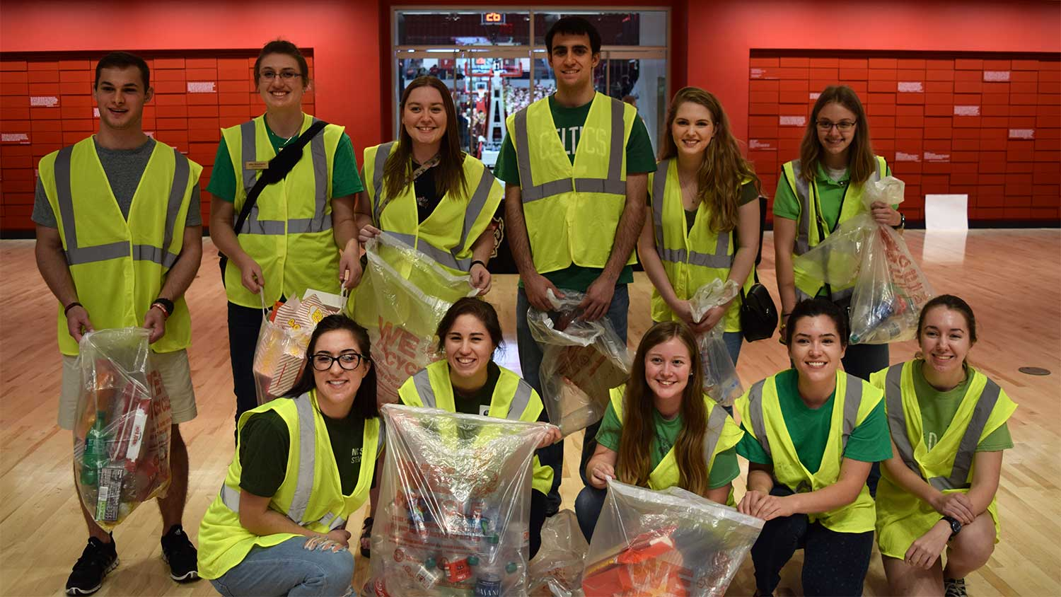 Students Spotlight Sustainability in NC State Sports