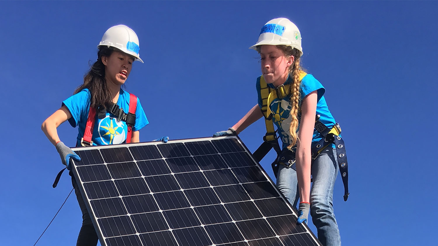 Students Install Solar To Help Others