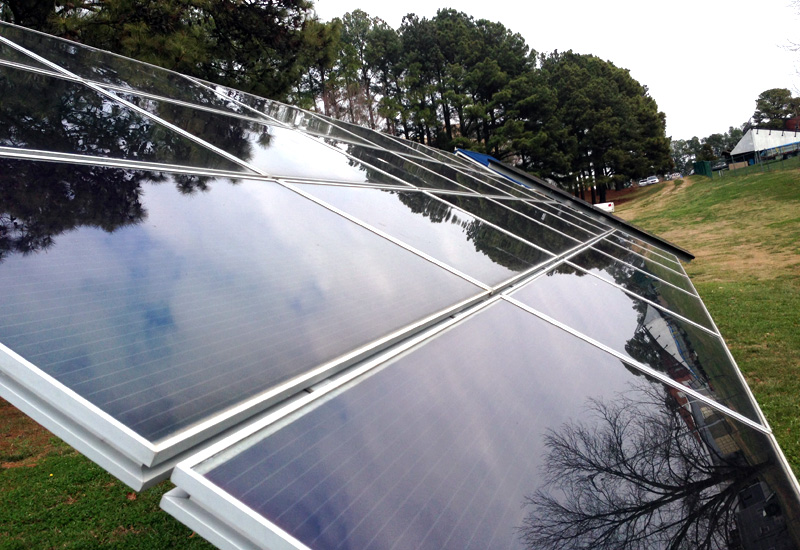 NC researchers hope special solar cells can help greenhouses generate energy