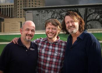 David Dean, Rob Jordan and John Bell