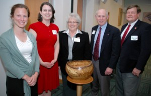 On April 22, NC State University was honored with the 2013 City of Raleigh Environmental Stewardship Award.