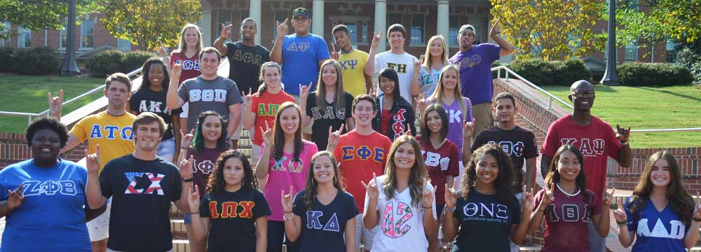 sustainability sororities fraternities
